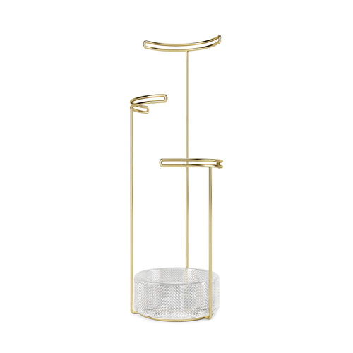 Jewelry Stands | color: Brass