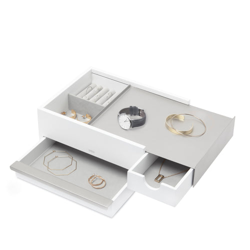 Jewelry Boxes | color: White-Nickel