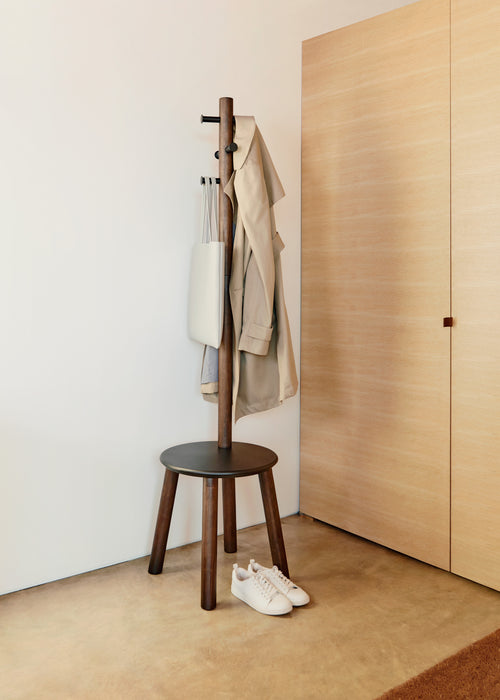 Coat Racks & Valets | color: Black-Walnut | Hover
