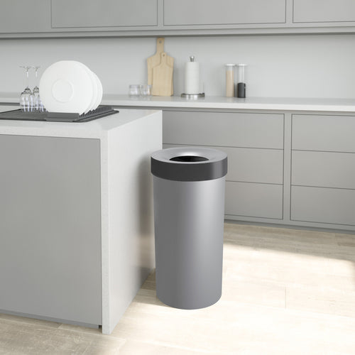 Kitchen Trash Cans | color: Gray-Steel | Hover