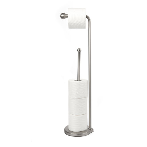 Toilet Paper Stands | color: Nickel