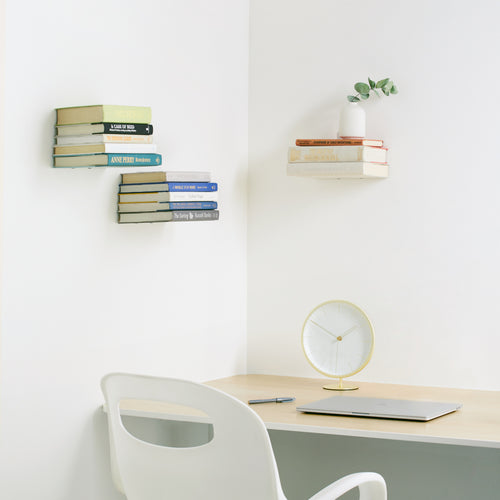 Shelves & Magazine Racks | color: Silver | size: Large | Hover