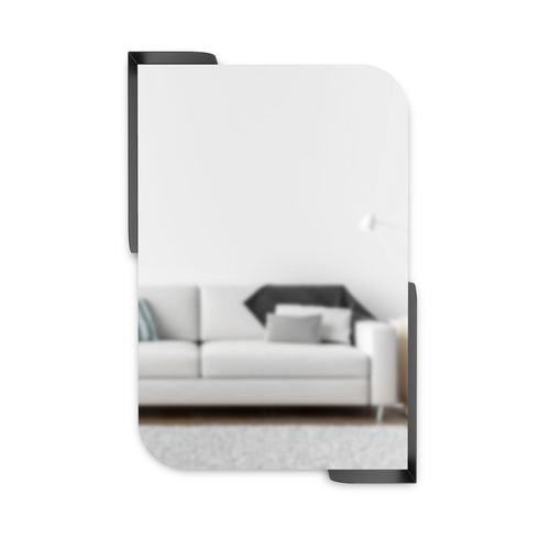 Wall Mirrors | color: Black