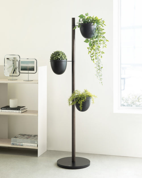 Floor Planters | color: Black-Walnut | Hover
