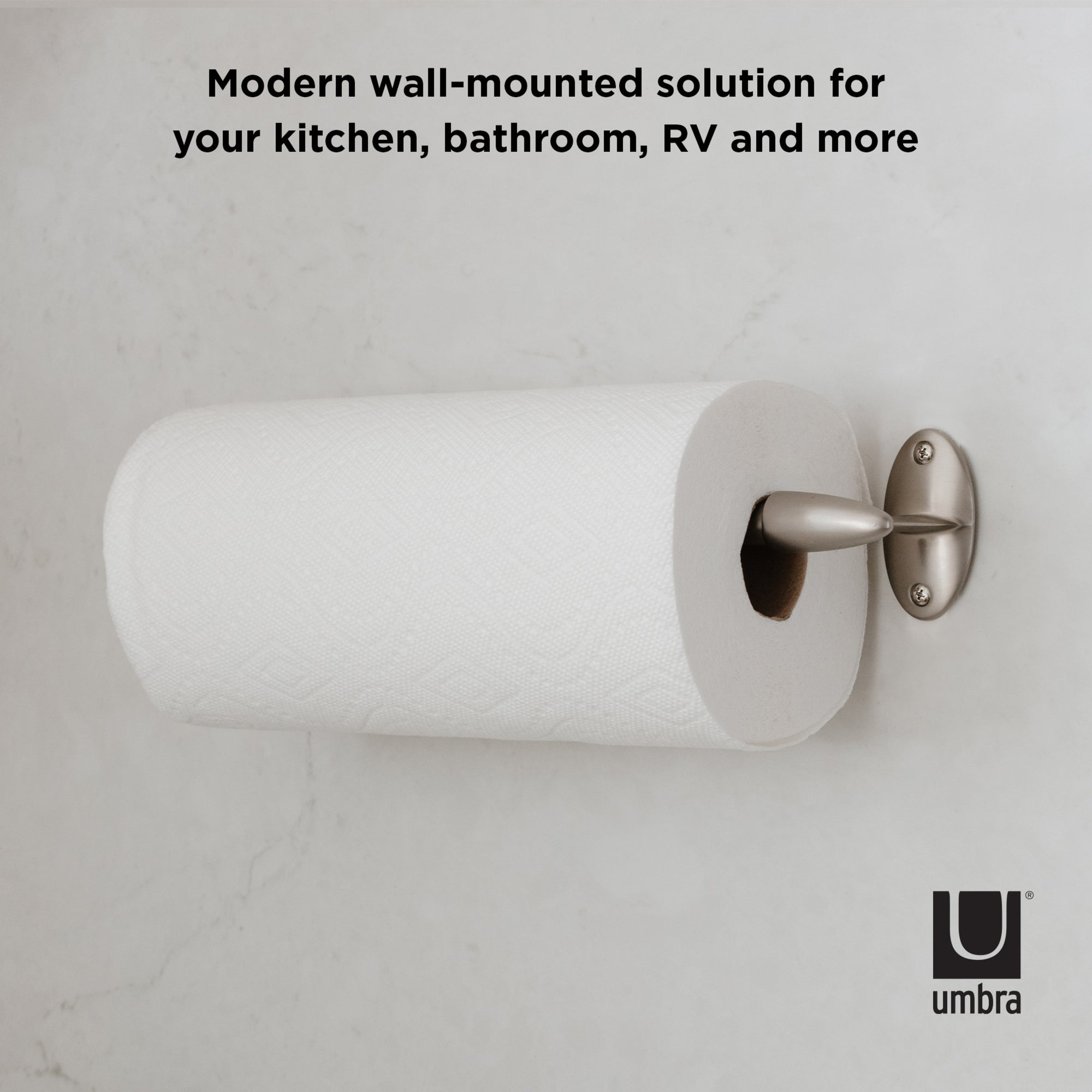 Stream Wall Mounted Paper Towel Holder Shop Paper Towel Holders Umbra