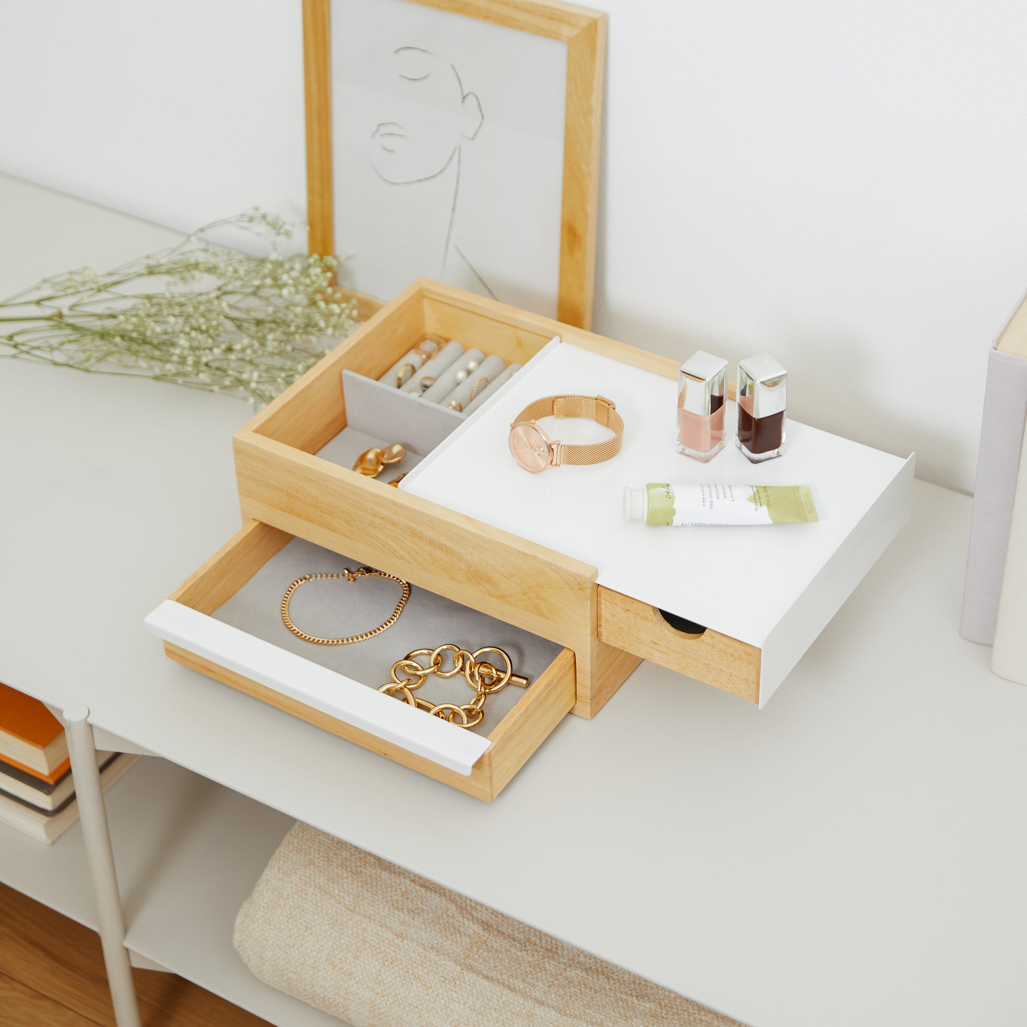 Stowit Jewelry Box Modern Jewelry Boxes By Umbra