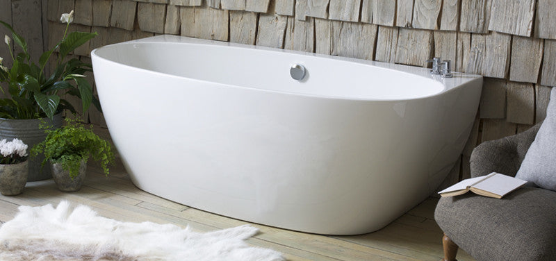 Cove Back To Wall Bath Freestanding Baths Waters Baths