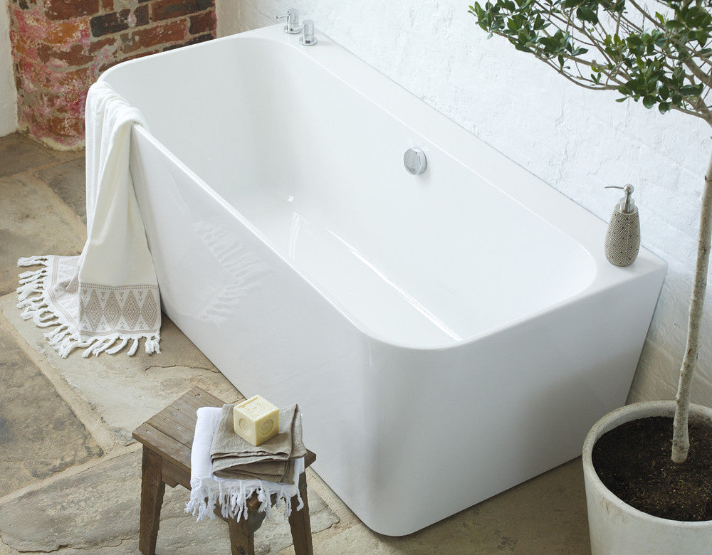 River Back To Wall Bath Freestanding Baths Waters Baths
