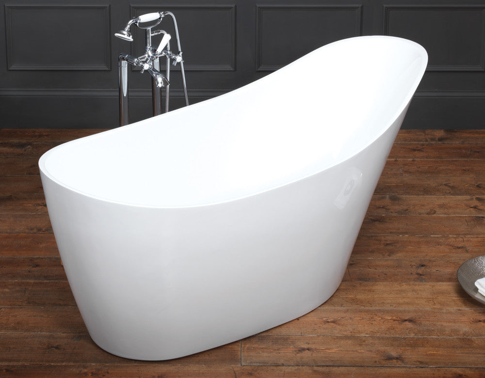 Wave² Freestanding Bath