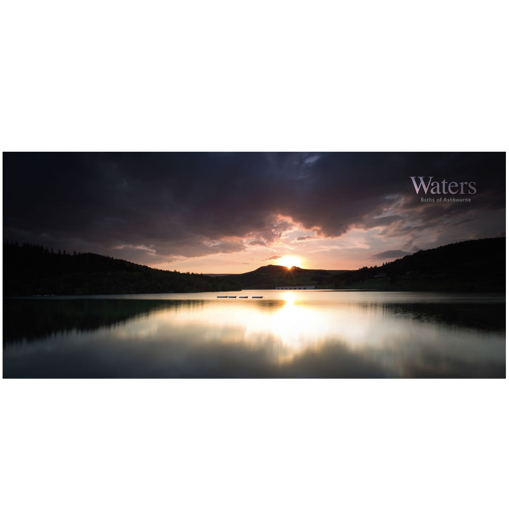 Waters Landscape Wall Paper