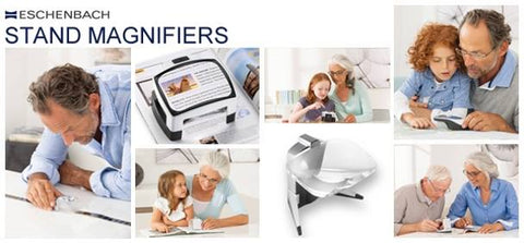 stand magnifiers & reading magnifiers