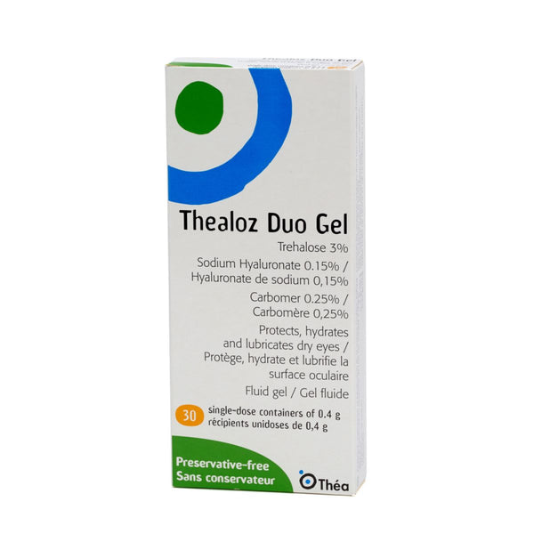 THEALOZ DUO GEL 30 vials