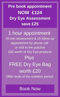 Pre book Dry Eye Appointment