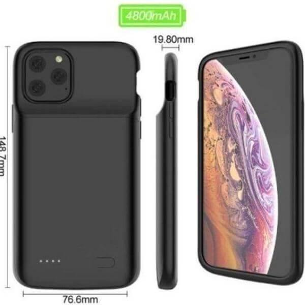 Wireless iPhone 11 Pro Max Battery Case | Bet Solar Power - Bet Solar Power