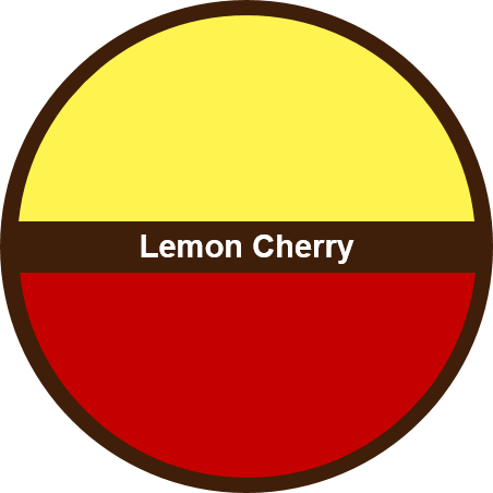 Lemon Cherry (1 dozen) - Big Cookie
