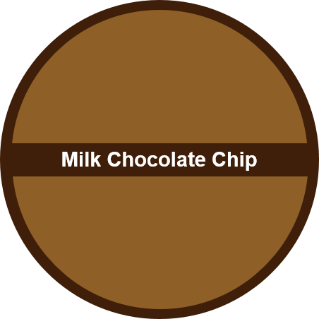 Milk Chocolate Chip (1 dozen) - Big Cookie