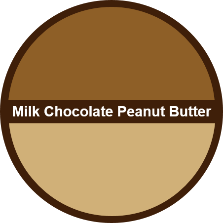 Milk Chocolate PB (1 dozen) - Big Cookie