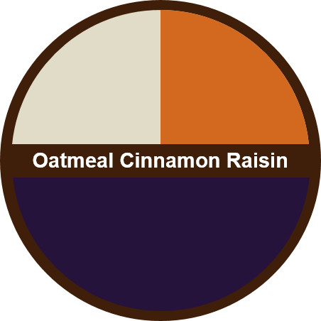 Oatmeal Cinnamon Raisin (1 dozen) - Big Cookie - 1