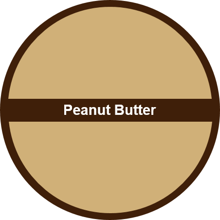Peanut Butter (1 dozen) - Big Cookie