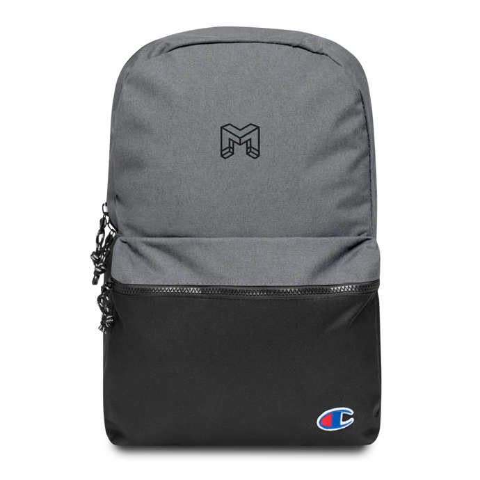 Magnet Embroidered Champion Backpack