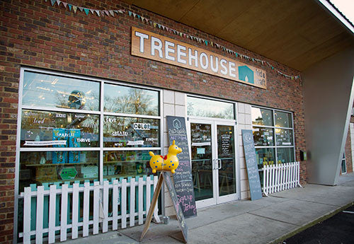 TREEHOUSE featured on Sweet Peach Blog!