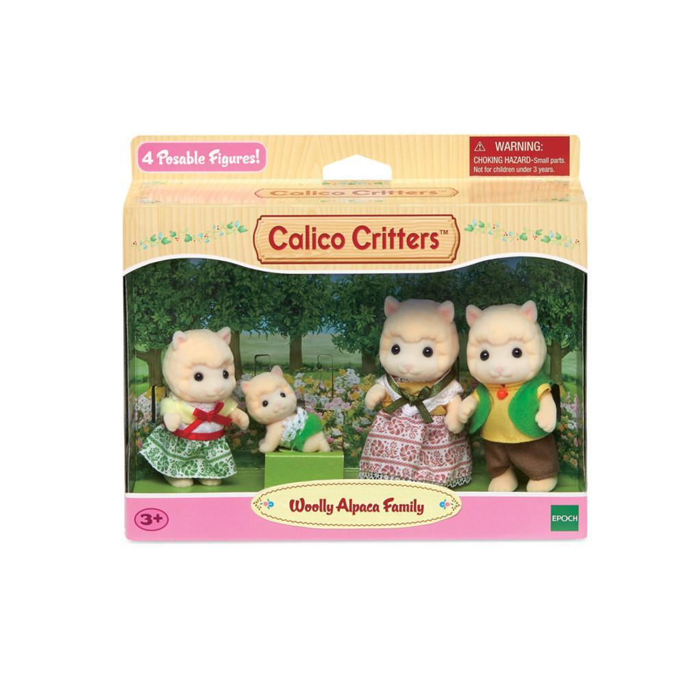 Woolly Alpaca Family - TREEHOUSE kid and craft