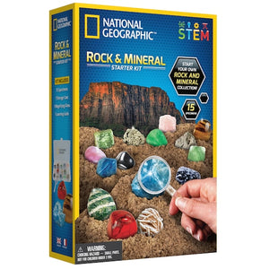 Rock & Mineral Starter Kit - TREEHOUSE kid and craft
