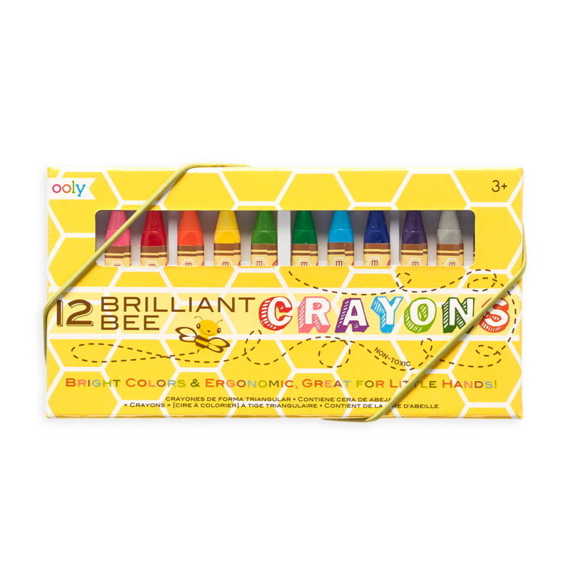Brilliant Bee Crayon - TREEHOUSE kid and craft