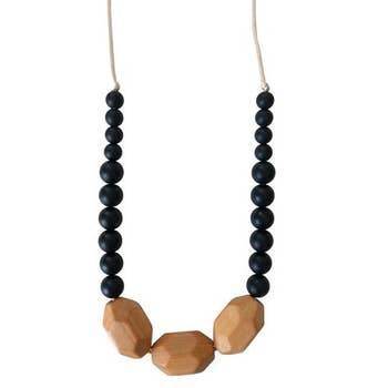 The Austin - Teething Necklace - TREEHOUSE kid and craft