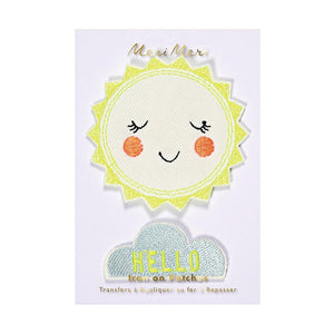 Hello Sunshine Patches - TREEHOUSE kid and craft