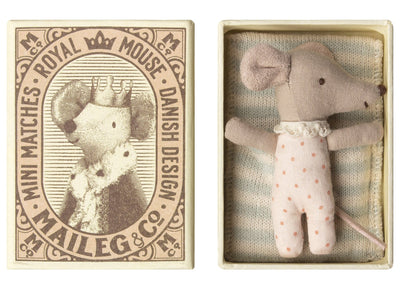 Sleepy-Wakey Mouse in a Box - TREEHOUSE kid and craft