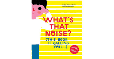 What's that Noise? (This Book is Calling You) - TREEHOUSE kid and craft