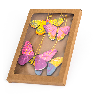 Wooden Butterfly Decorations - TREEHOUSE kid and craft