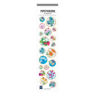 Wildflowers Pipstickers - TREEHOUSE kid and craft