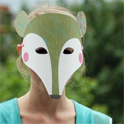 DIY Creature Mask - TREEHOUSE kid and craft