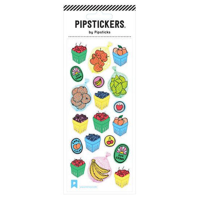 Farmers Market Pipstickers - TREEHOUSE kid and craft