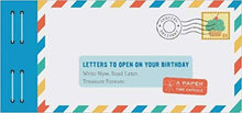 Load image into Gallery viewer, Letters To Open On Your Birthday - TREEHOUSE kid and craft