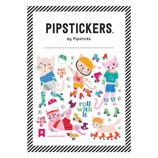 Lets Roll Pipstickers - TREEHOUSE kid and craft