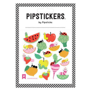 We're Into Veggies Pipstickers - TREEHOUSE kid and craft