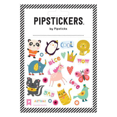 Friendly Animals Pipstickers