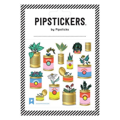 Garden In A Can Pipstickers - TREEHOUSE kid and craft
