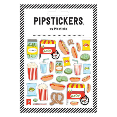 Hot Diggity Dog Pipstickers - TREEHOUSE kid and craft