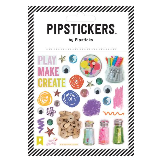 Play Make Create Pipstickers - TREEHOUSE kid and craft