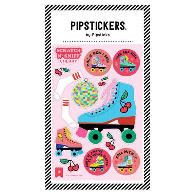Roll With It Scratch and Sniff Pipstickers - TREEHOUSE kid and craft