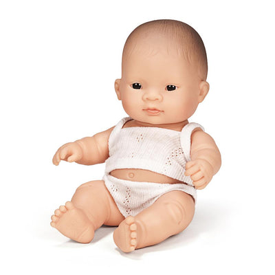 Newborn Baby Doll Asian - TREEHOUSE kid and craft
