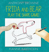 Load image into Gallery viewer, Frida and Bear Play the Shape Game! - TREEHOUSE kid and craft