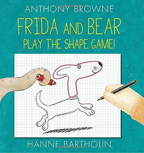 Frida and Bear Play the Shape Game! - TREEHOUSE kid and craft