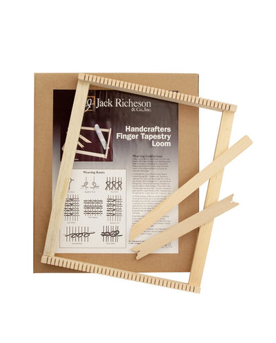 Handcrafter Finger Tapestry Loom - TREEHOUSE kid and craft