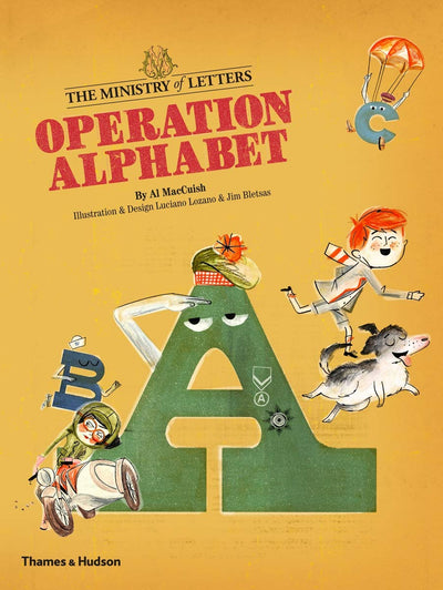 Operation Alphabet - TREEHOUSE kid and craft