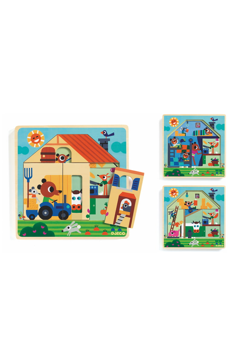 Puzzle Chez Gaby - TREEHOUSE kid and craft